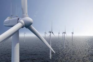 Ökostrom-Gewinnung auf dem Meer