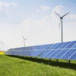 Energiewende durch Windpark und Solaranlage