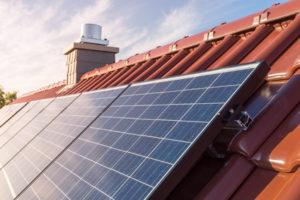 Photovoltaikanlage auf einem Dach